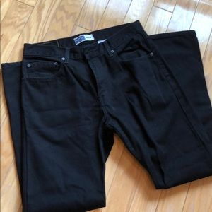 Levis signature black jeans regular